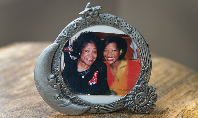 picture frame of grandmother