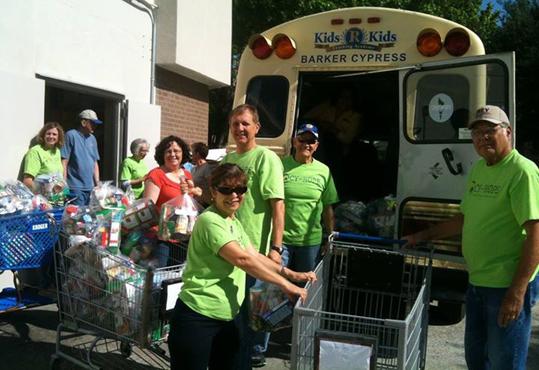 Cy-Hope backback program volunteers
