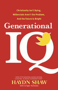 Book cover of Generational IQ