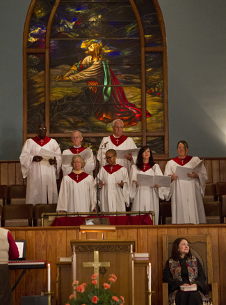 Choir at Triune Mercy Center