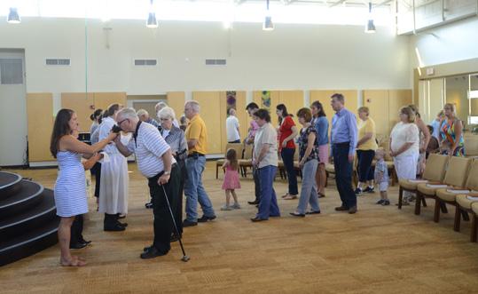 Communion at Bethlehem Church