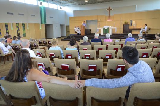 Church service at Bethlehem Church