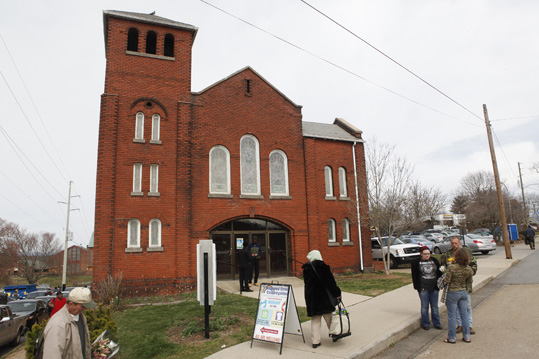 Haywood Street Congregation in Asheville, NC.