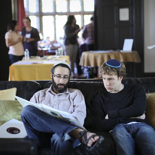 Ben Greenfield and Uri Allen at Kevah Teaching Fellowship