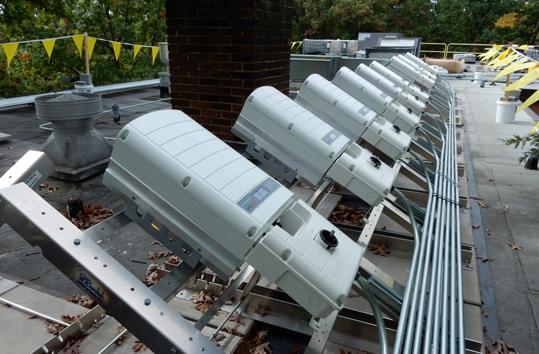 Solar panel equipment