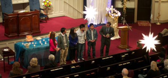 Burmese congregants at Tabernacle Baptist Church